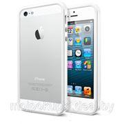 "Бампер SGP ""2 + 1"" Neo Hybrid EX Vivid Series для iPhone 5 белый фото"