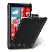 Чехол-книжка MELKCO Nokia 820 чёрный фото
