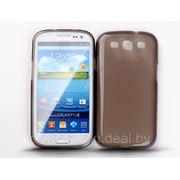 Силиконовый чехол Jekod для Samsung GT- i9300 Galaxy Slll + плёнка чёрный фото