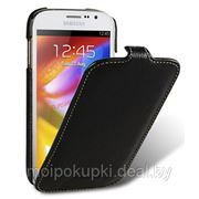 Чехол футляр-книга Melkco для Samsung GT-I9082 Galaxy Grand Black LC (Jacka Type) фото