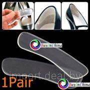 Силиконовые стельки вкладыши для женской обуви фото