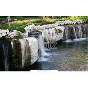 Устройство ручьев и водопадов фото