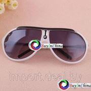 "Стильные солнцезащитные очки ""White Rimmed Style"" фото"