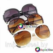 Женские солнцезащитные ретро очки с UV400 фильтром CHLOE фото