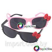 "Модные женские очки в стиле 80-х ""Retro Bow Tie"" фото"