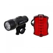Комплект светодиодных фонарей на велосипед фото