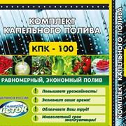 Набор капельного полива растений КПК 100 готовый  фото