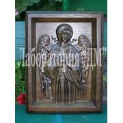 Иконы православные - именные иконы деревяные, резьба по дереву. фото