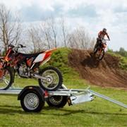 Прицеп для перевозки мотоцикла фото
