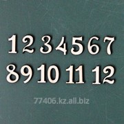 Заготовки для декупажа Цифры N1 - 2 см. фанера 4 мм. фото