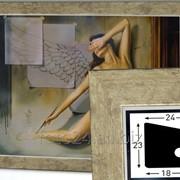 Рамки деревянные, формат А1 (а также А2, А3, А4) фото