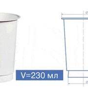 Упаковка для кисломолочной продукции: полипропиленовые и полистирольные стаканчики различных размеров и цветов (диаметры 68, 75, 95 мм). фото