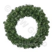 Декор Венок еловый d 0,50м Императорский зеленый фото