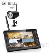 """Комплект беспроводного видеонаблюдения: видеорегистратор с 7"""" монитором и 1 видеокамеры KIT-HD71 300151 фото"""
