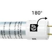 Лампа светодиодная LED-T8-standard 10Вт-G13-600мм. (замена люминесцентной 18Вт) фото