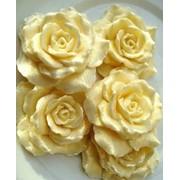 """Дизайнерское мыло """"Цветущая роза"""" 55-60г фото"""