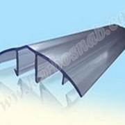 Профиль соединительный разъемный НСР 6-10 мм (крышка) с УФ защитой фото