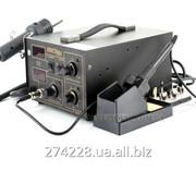 Термовоздушная паяльная станция KRAFT&DELE 852D+ 100-500°C/100-500°C 2LED фото