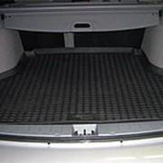 Коврик в багажник Renault Megane 2002-2008 седан (полиуретановый с бортиком) фото