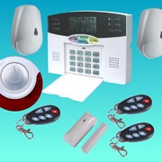 GSM-сигнализация для дома, для квартиры, оборудование охранной сигнализации фото