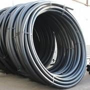 Трубы полиэтиленовые напорные ПЭ100 диамером 16, 20, 25, 32, 40, 50, 63, 75, 90, 110, 125 и 160 мм фото