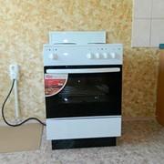 Подключение электрической плиты, сушилки фото