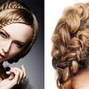 Курсы плетения на волосах.  фото