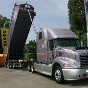 Автомобильная срочная доставка грузов От дверей до дверей фото