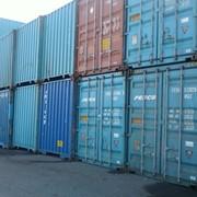 Перевозки контейнерные компанией UNION EXPEDITIE фото