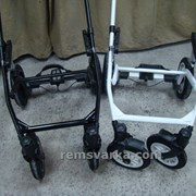 Ремонт колясок: аргонная сварка, усиление рам. фото
