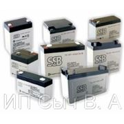 SSB аккумулятор AGM SB 5Ah-12V фото