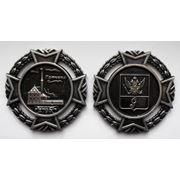 """Медаль """"Гатчина"""" с видом Приората фото"""