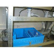 Установка жироуловителя серии ПЭ-0,5 фото