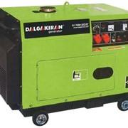 Генераторы дизельные серии DJ 7000 DG-EC фото