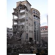Разборки и снесения зданий фото