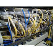 Создание монтаж ЛВС (LAN)локально-вычислительных сетей фото