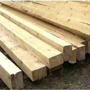Брус мостовой деревянный фото