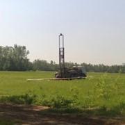Сооружение технологических скважин. фото