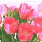 Салфетка для декупажа Тюльпаны -3 фото