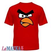 Футболки геймерские Angry Birds RED фото