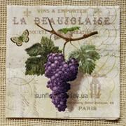 Салфетки декупажные: вино, виноград М-60 фото