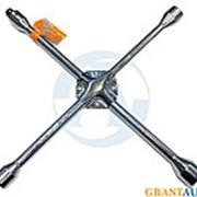 Ключ балонный крестовой OMBRA 17х19х21x22+1/2 фото