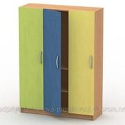 Шкаф для белья (3 секции,2 полки) ШБ-1 фото