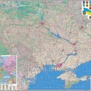 Автокарта. Україна. Європа фото
