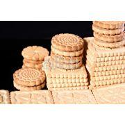 Печенье сахарное с кунжутом фото