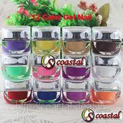 Цветные УФ гели для дизайна ногтей № 2 фото