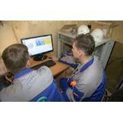 Монтаж систем контроля прочностной надежности фото
