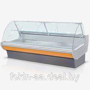 Торговая холодильная витрина Неман 120 ВС, среднетемпературная фото
