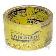 Упаковочные клейкие ленты (скотч) Universal 50мм-66Y (кристально-чистая) фото