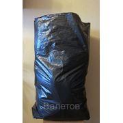 Пакет для мусора ПНД 72*110см. (35мкм) черный фото